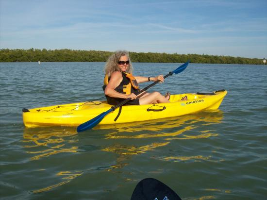 Crazy Woman Kayak sharing her love of the sport.
