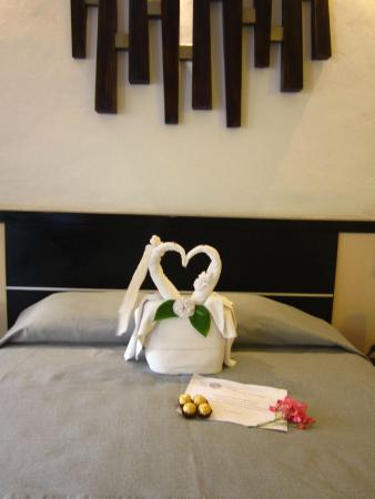 Decoración en las habitaciones para fechas especiales. - Picture of ...