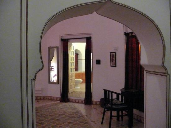 Deogarh Mahal: la chambre