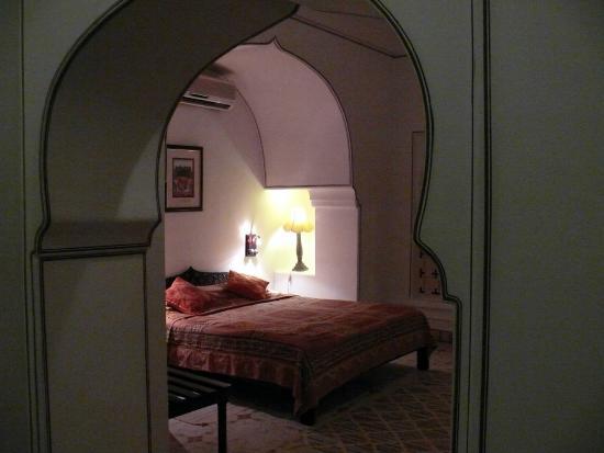 Deogarh Mahal : la chambre