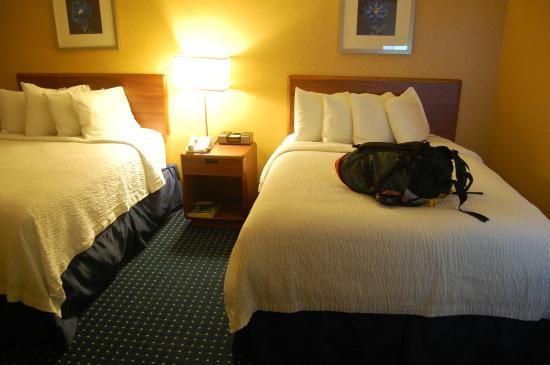 SpringHill Suites Boise ParkCenter : 2 queen beds