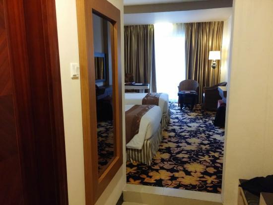 Grand Rocky Hotel Bukittinggi: View kamar