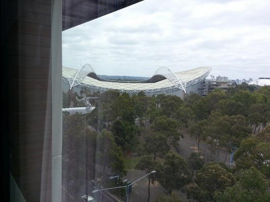 Quest at Sydney Olympic Park : Room from our room, 706A