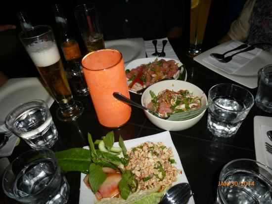 People's Palace : Larp Gai, Pomelo Salad