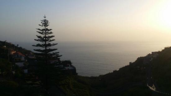 هوتل دو كامبو: vistas da varanda para o mar em frente