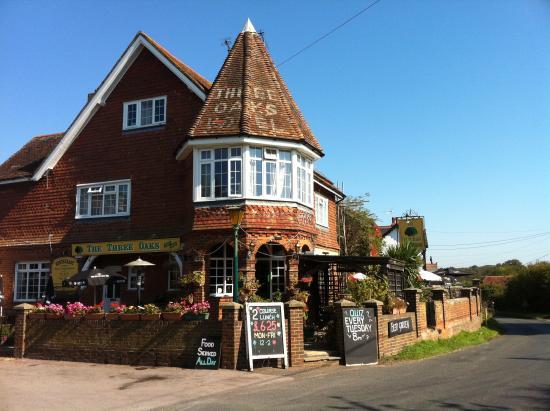 The Three Oaks Pub Hastings Restaurant Reviews Phone
