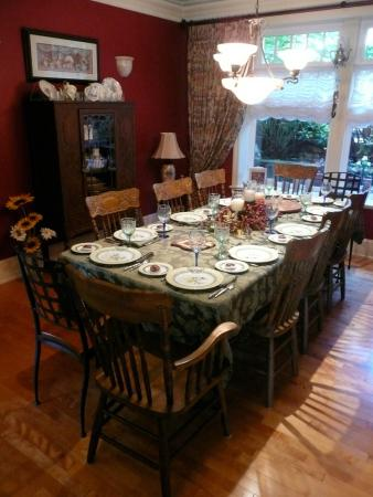 Mainstay Oasis Bed and Breakfast : Tea Party setting