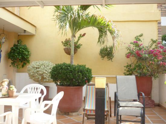 Hotel Casa D'mer Taganga: Comedor primer piso