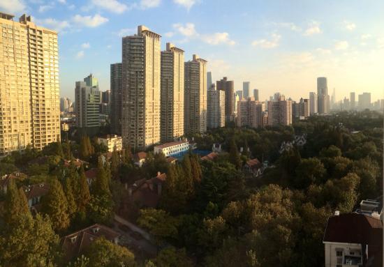 Radisson Blu Plaza Xingguo Hotel Shanghai: View from room