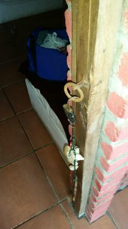 Cocosolo Lodge : Las puertas no tienen cerradurras