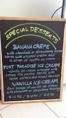Siam by the Sea : Special desserts