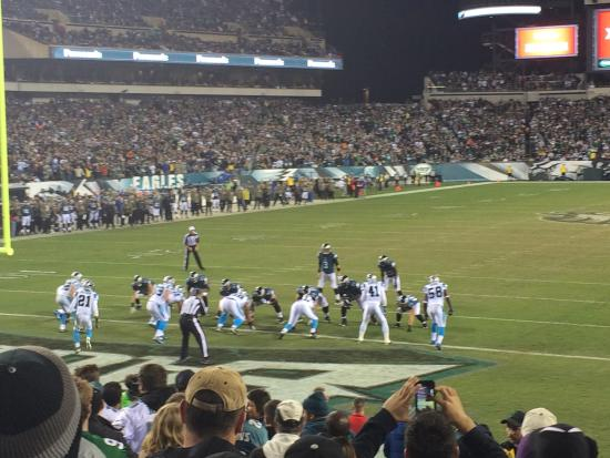 View From Section 112 Picture Of Lincoln Financial Field