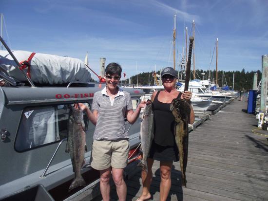 Gabriola Island, Canadá: Sisters Fishing Trip