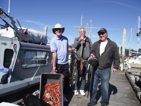 Go Fish Charters: Guess whats for dinner!