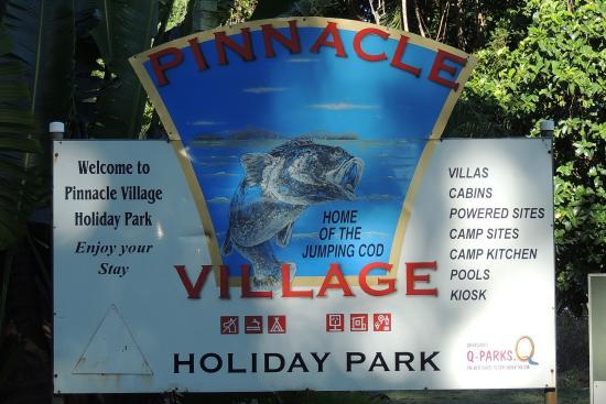 Pinnacle Village Holiday Park : lovely spot