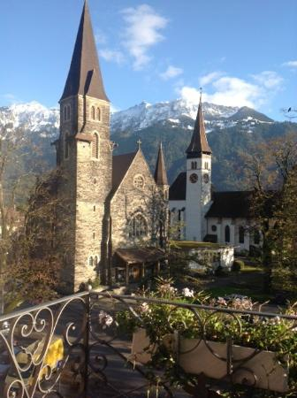 Hotel Interlaken: Spectacular view from our room