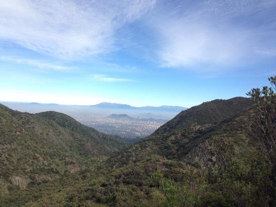 Parque Natural Aguas de Ramon: Santiago! Desde Aguas de San Ramón