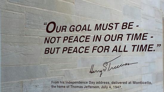 Harry S. Truman Library and Museum: Thought Provoking
