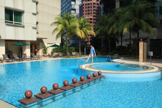 Swimming Pool Picture Of Pullman Kuala Lumpur City Centre Hotel And Residences Kuala Lumpur