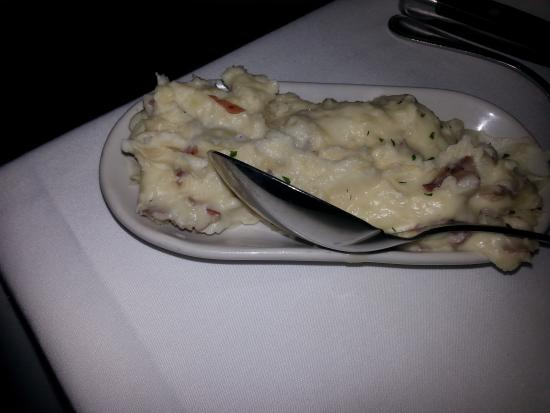 The Capital Grille : mashed potatoes