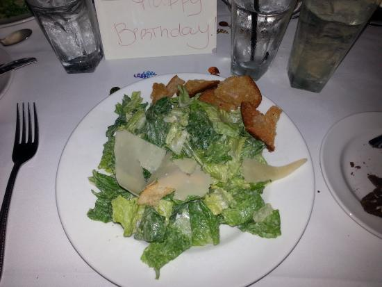 The Capital Grille : salad