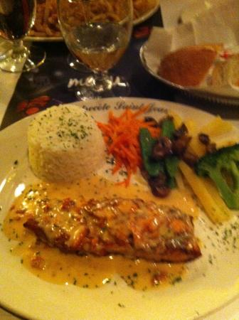Salmon With an Amazing Cream Sauce!
