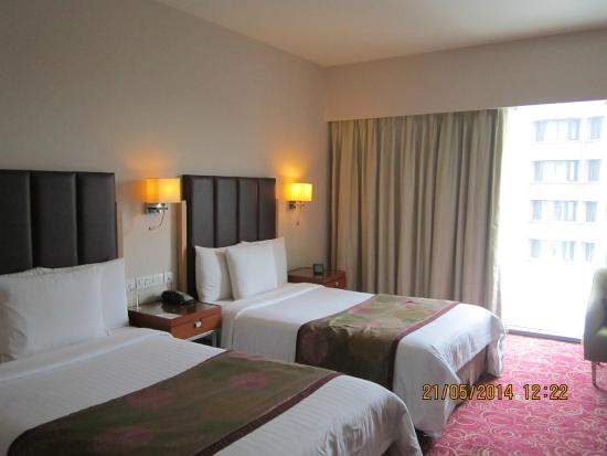 Courtyard By Marriott Hyderabad : Well appointed room