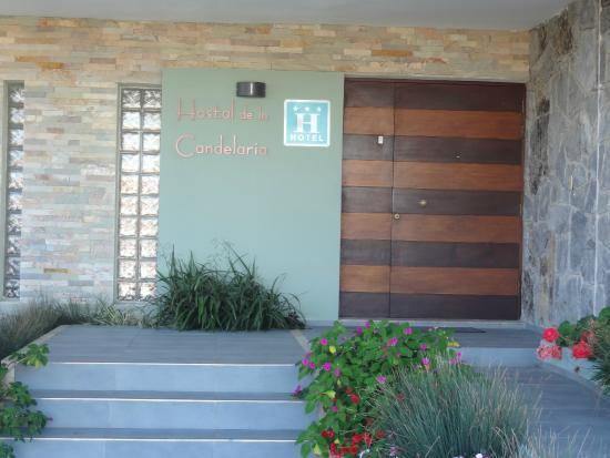 Hostal de la Candelaria: Porta de entrada