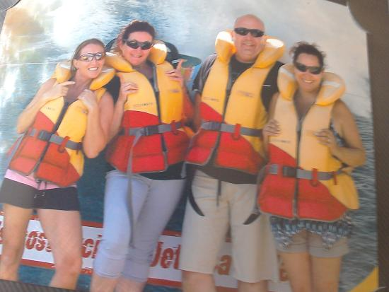 Paradise Jet Boating: before the water