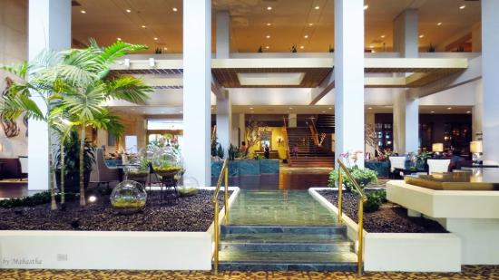 Omni Houston Hotel: loby