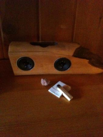 Ojai Rancho Inn: Coolest iPod Dock & complimentary Palo Santo