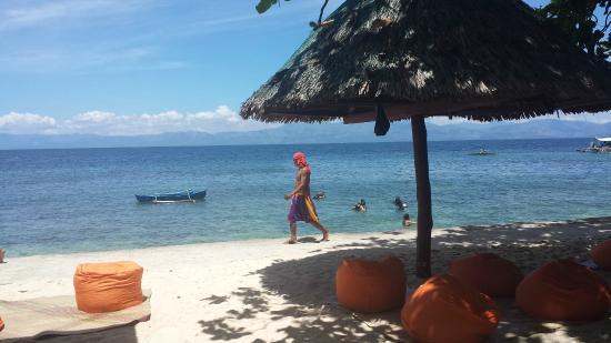 Mayas Native Garden : kleiner Strand sehr nah