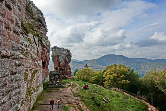 Château Fort de Fleckenstein : Ruine Fleckenstein