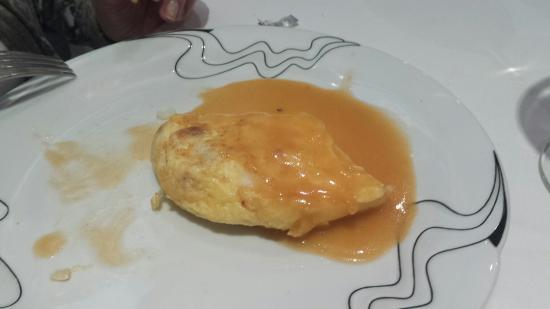 La Goleta : Tortilla de merluza...ya la mitad!!!