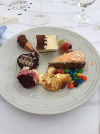 Sandy Lane Hotel: Sunday Lunch Desserts