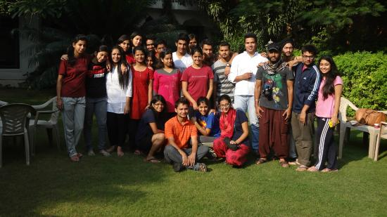 Shahar Palace: Indian Students Group