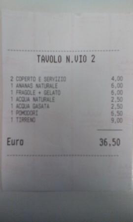 Mariano Comense, Italia: Cena in due