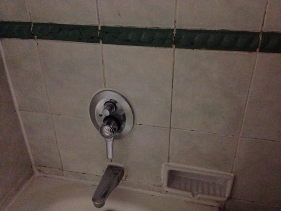 Puri Casablanca Serviced Apartment: Stains on the bath tub