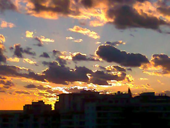 Hotel Balcon de Europa: Sunset over Nerja