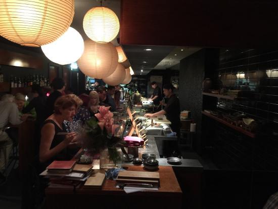 Busshari Japanese Restaurant : The kitchen