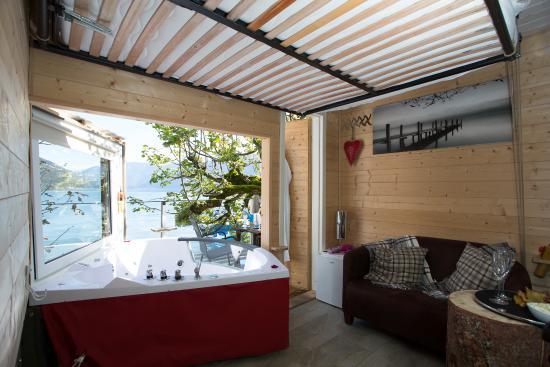 baumhaus bild von strandhotel seeblick faulensee tripadvisor. Black Bedroom Furniture Sets. Home Design Ideas