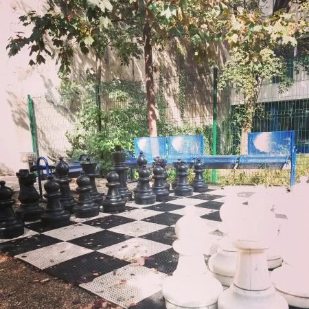 FIAP Jean Monnet: giardino