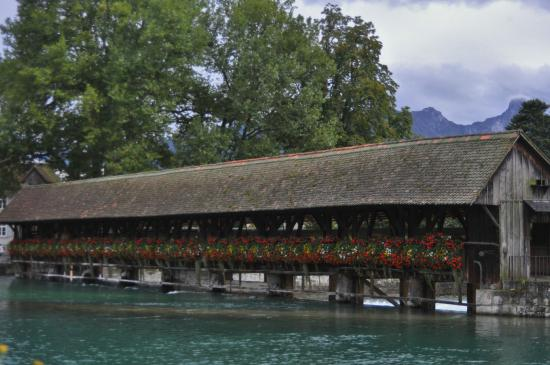 Thun, Switzerland: Thoune Pont couvert