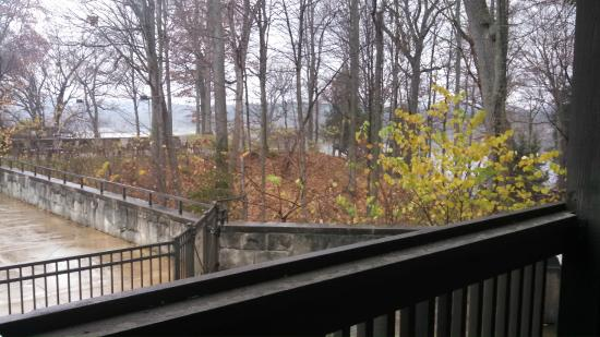 Mohican Lodge and Conference Center: View from Room 115