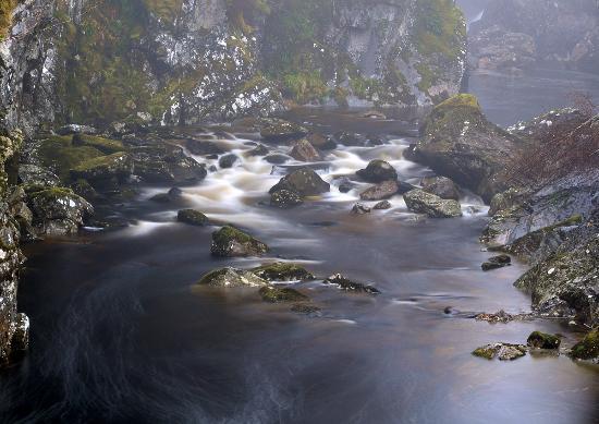 Struy, UK: Glen Affric waterfall 2