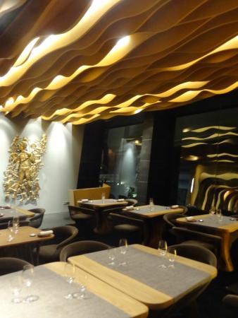 Restaurant Aziamendi 3 Stars Michelin Picture Of Iniala Beach