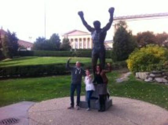 Awfully Nice Tours & Philly Tour Hub: The Statue