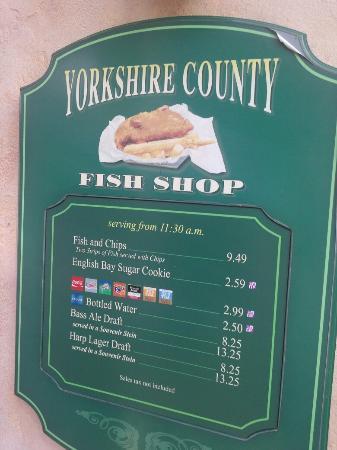 Yorkshire County Fish Shop: Hummmm!