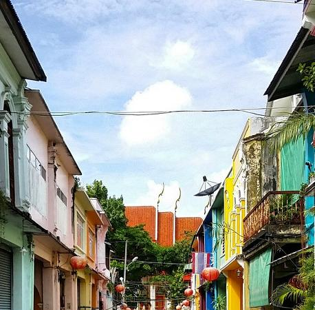 Old Phuket Town : A side street
