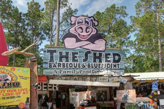 The Shed Barbeque & Blues Joint: Main Entrance